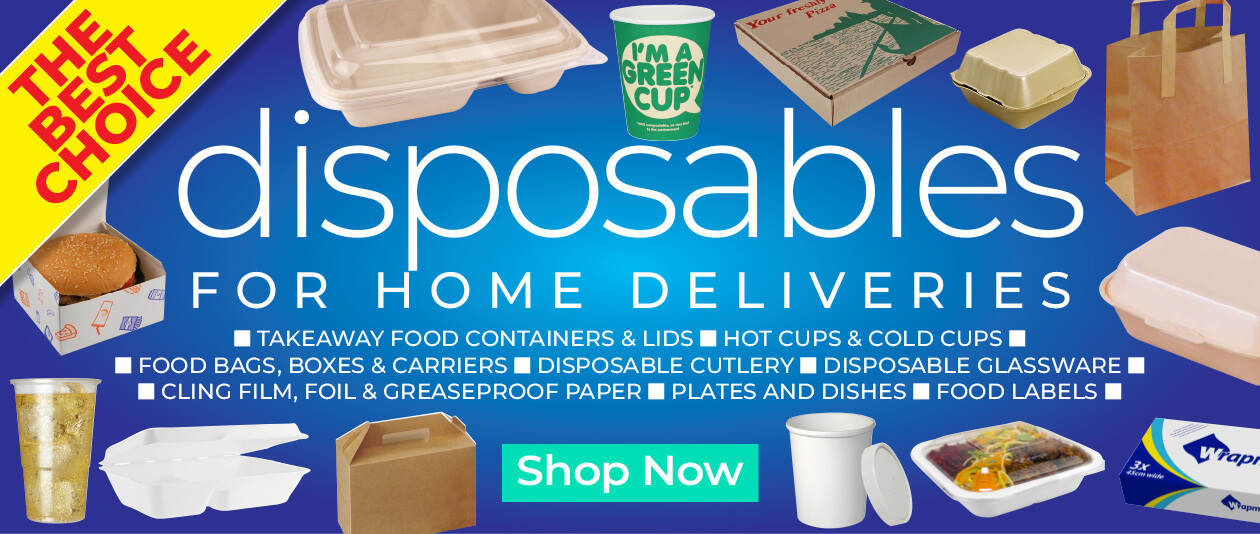 Catering Disposables for Home